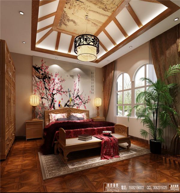 中环岛卧室细节效果图------成都高度国际装饰