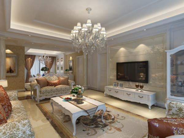 室内多用带有图案的壁纸、地毯、窗帘、床罩、及帐幔以及古典式装饰画或物件;为体现华丽的风格,家具、门、窗多漆成白色,家具、画框的线条部位饰以金线、金边。