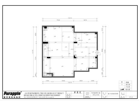 地下室原始结构图
