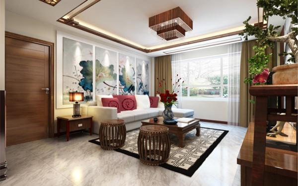 在中式风格的装修设计中,配饰师不可或缺的一部分,配饰的选择可以决定整个空间显的井条有序或杂乱无章,如何能让配饰跟整个空间融为一体是设计师必须周密思考的部分。