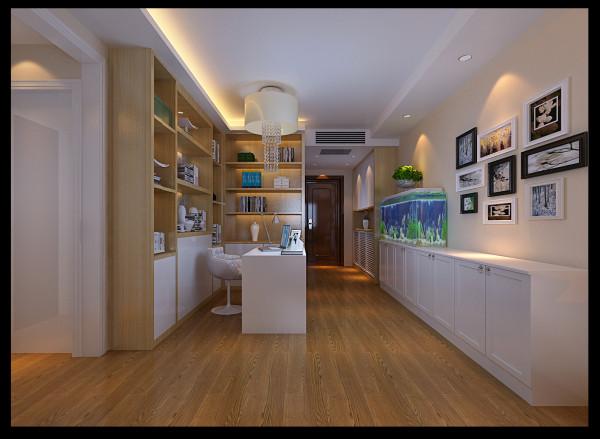 客厅:亮点所在,客厅入户位置放一组宽大的书柜,增加衬托出不俗的文化气息!