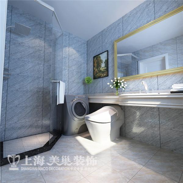 贰号城邦78平两室两厅卫生间装修效果图