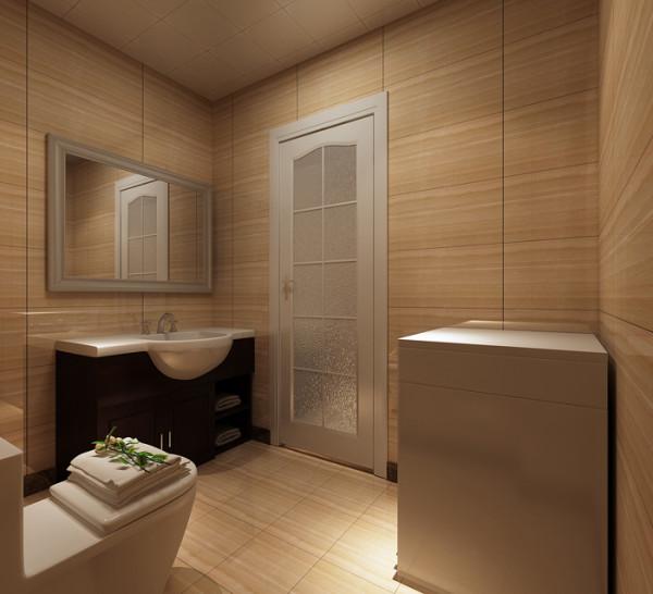 新景家园(66平)一居室户型现代简约风格卫生间效果图展示