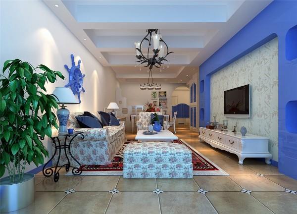 """不是简单的""""蓝白布艺+地中海饰品+自然质感的家具""""等元素的堆砌,而要真正领悟和感受地中海风格的神韵才行。"""