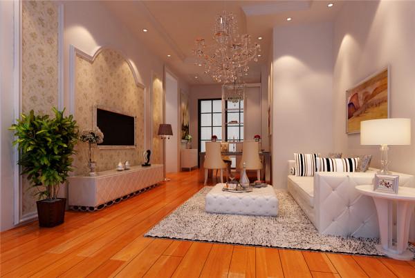 本案客户追求简洁大气、典雅有自己独特品味的家居环境,将风格定位为白色简欧和田园的混搭。入户的第一个亮点是门厅的字画背景墙,顶面运用了石膏板结合石膏线的装饰,既展示了客户的爱好,又突出了自己独特的品味。