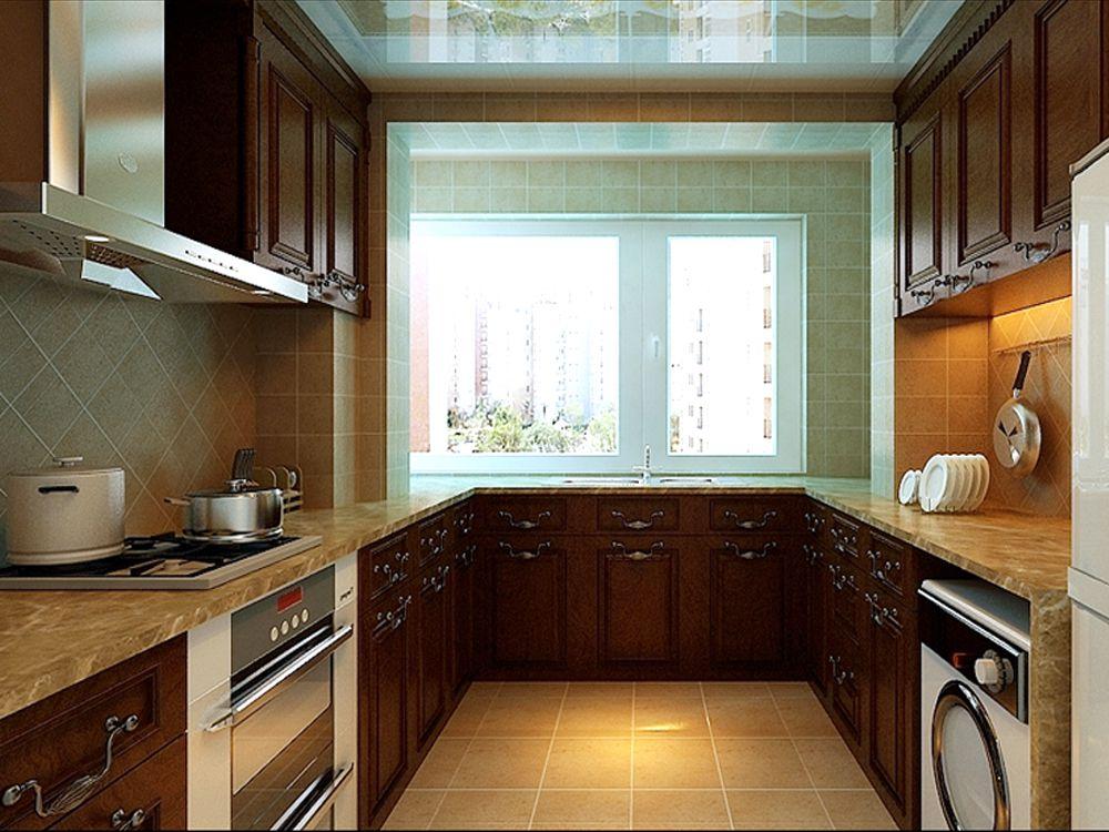 中式三居林凤装饰装修公司厨房