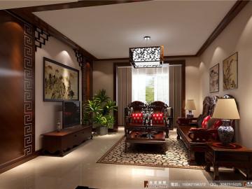中国韵味---成都高度国际装饰
