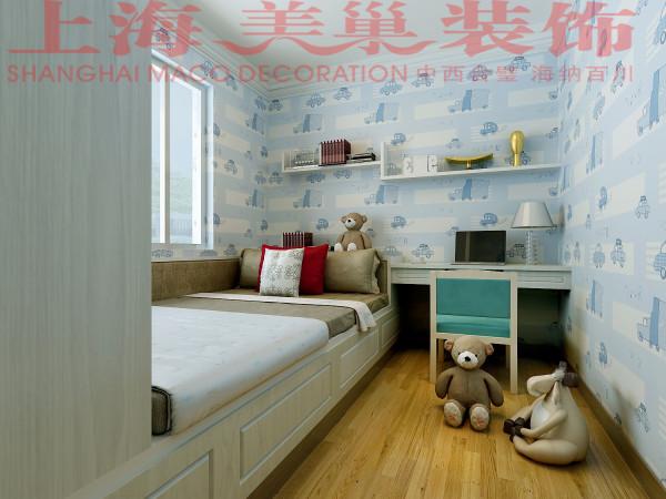 瀚宇天悦87平三室两厅现代简约风格儿童房装修效果图