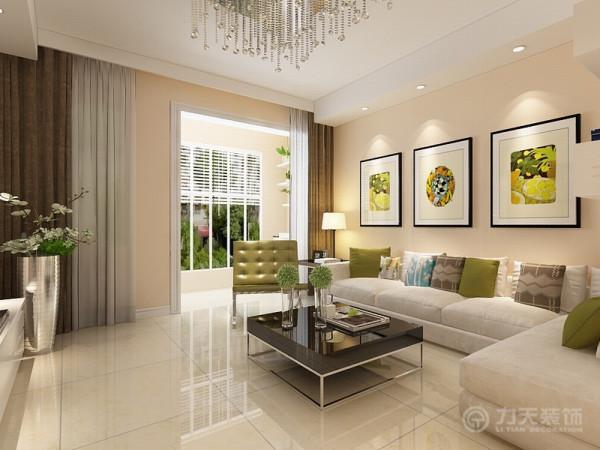该户型整体风格是现代简约风格.适合于4口之家居住,以简洁明快的设计风格为主调,简洁和实用是现代简约风格的基本特点。