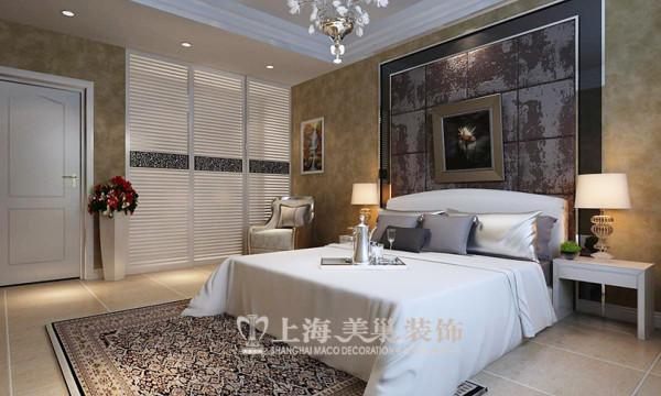 建业森林半岛4号楼120平三居室装修效果图--主卧
