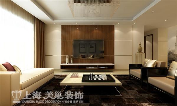 祥和花园190平方四室两厅现代简约风格装修案例-电视背景墙装修效果图