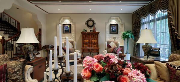田园 美式 美式田园 别墅 北京院子 客厅图片来自别墅装修设计--hy在
