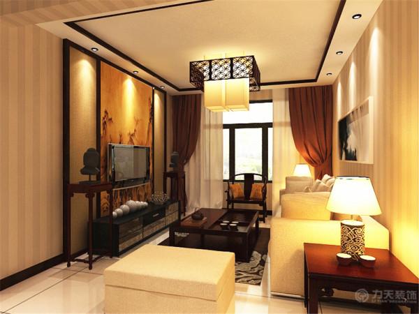 本方案为中信公园城二期洋房标准层C户型3室2厅2卫1厨 120.00㎡的居室设计,本方案的设计风格是现代中式风格