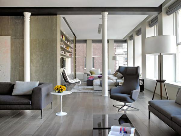 现代简约大宅客厅