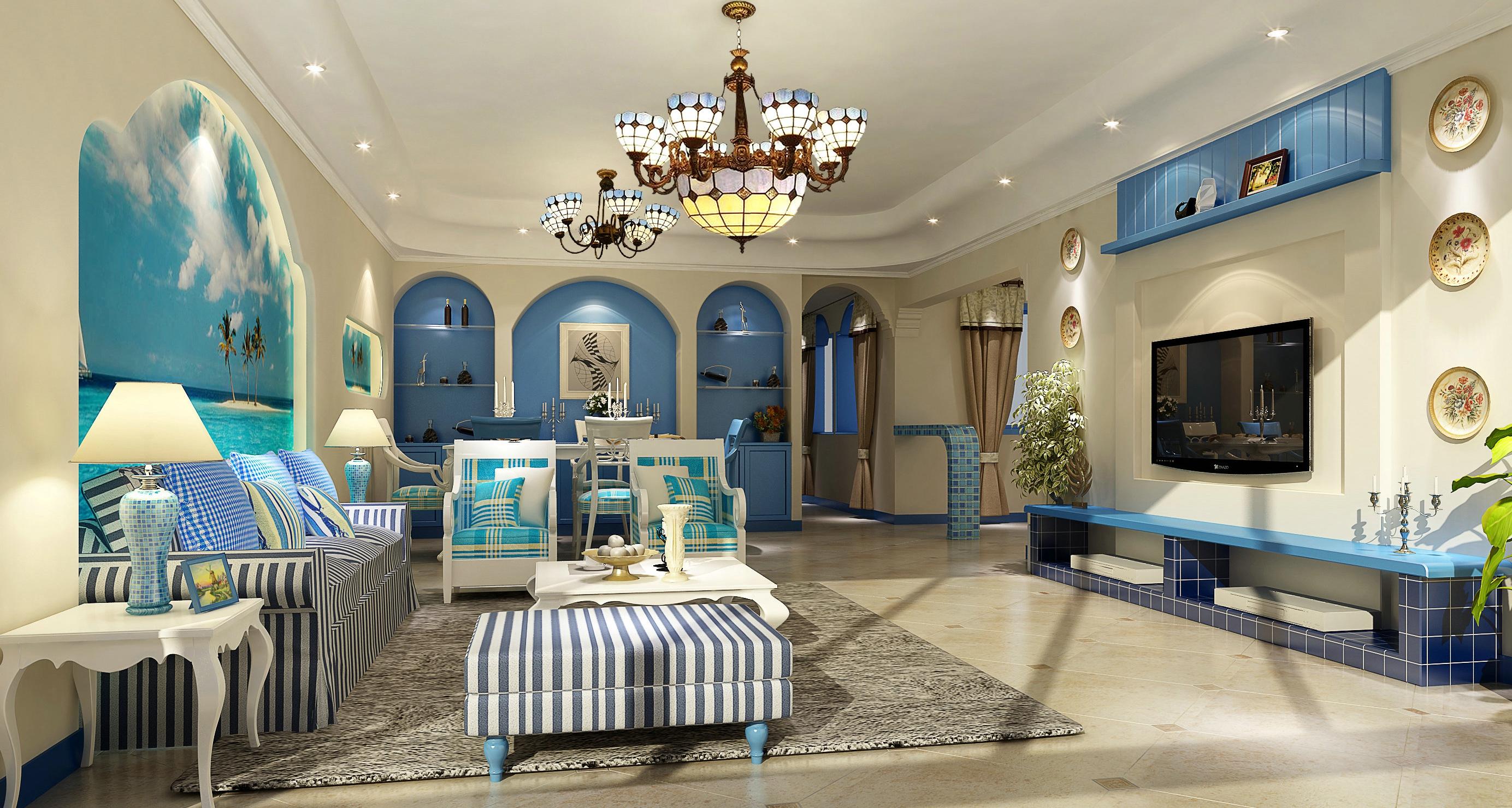 户型图 原始结构图 好易家 装饰 装修 设计 详细尺寸 地中海风格 客厅