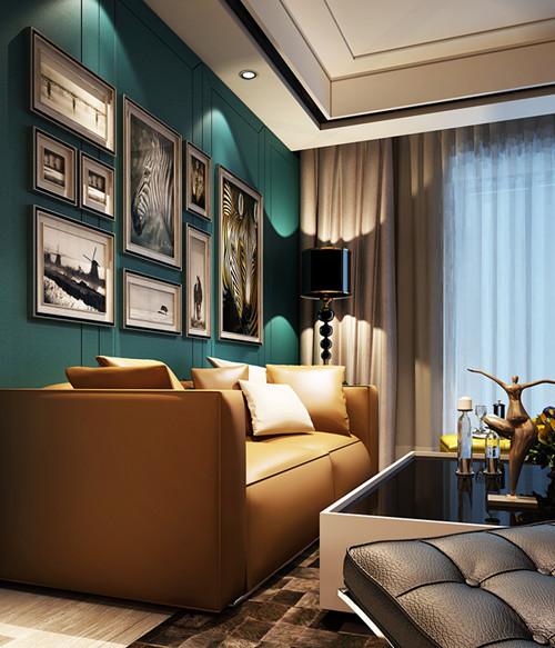 组合搭配上大气、独特的品牌家具,有怀旧情调。