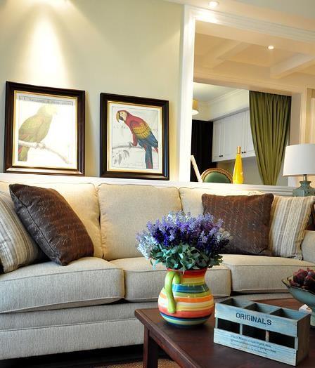 客厅沙发及家居饰品