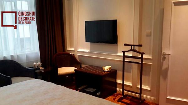 酒店客房装修实景照片