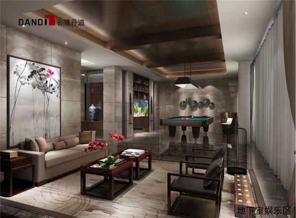 0 地下室娱乐室 标签:                新中式           新中式别墅