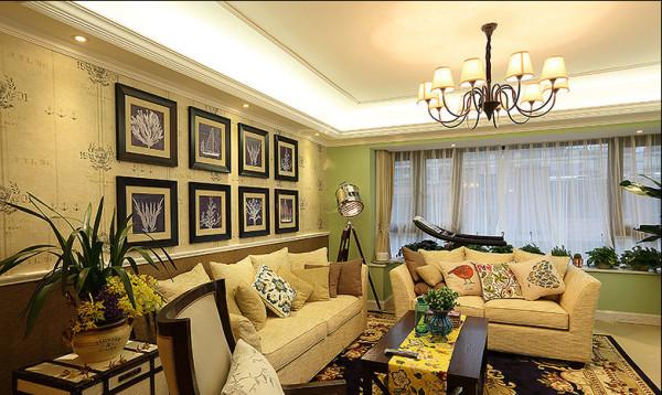 客厅沙发相框
