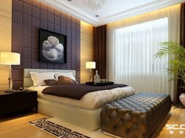 150平三居室华侨城港式混搭风格