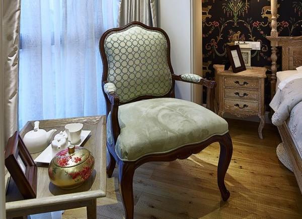 卧室沙发凳细节图片