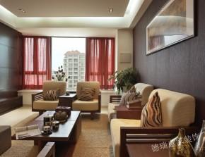 中式 三居 收纳 餐厅 客厅 卧室 书房 温馨 舒适 阳台图片来自青岛德瑞意家装饰郭欣在新中式风格的经典展现两室两厅的分享