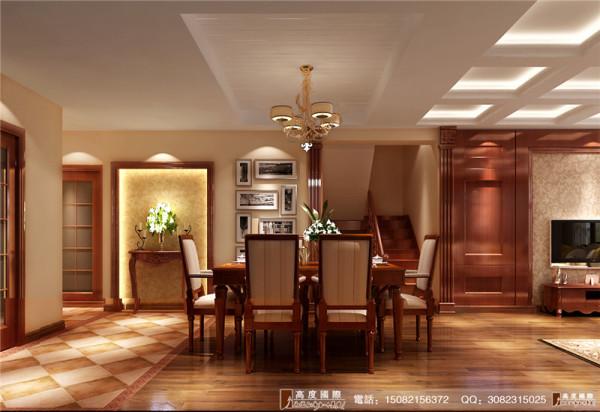 万科五龙山餐厅细节效果图--成都高度国际装饰