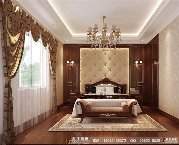 万科五龙山卧室细节效果图--成都高度国际装饰