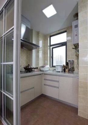 127平 简约田园 小清新 厨房图片来自cdxblzs在127平简约田园小清新的分享