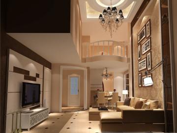 欧式loft---成都高度国际装饰