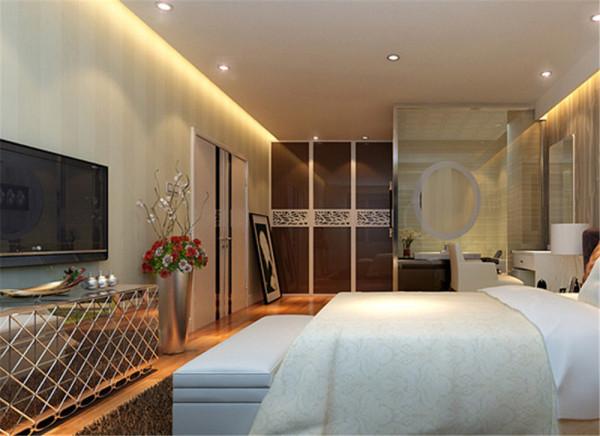 【实创装饰】--绿萱园三室一厅简欧 --卧室