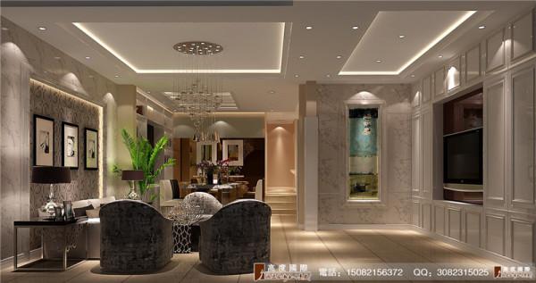 悠山郡客厅细节效果图----成都高度国际装饰设计