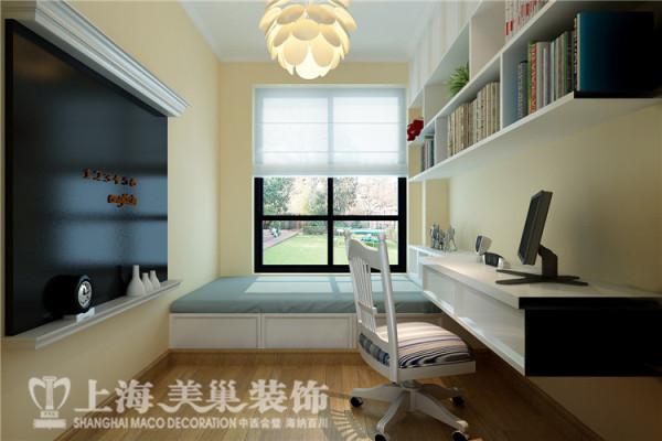建业贰号城邦4号楼两室两厅田园风格装修案例-卧室装修效果图