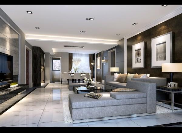 神仙树大院,现代,客厅