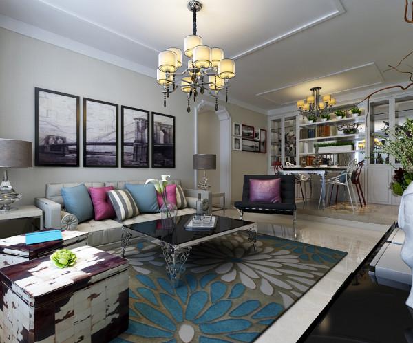 客厅的沙发墙面设计效果