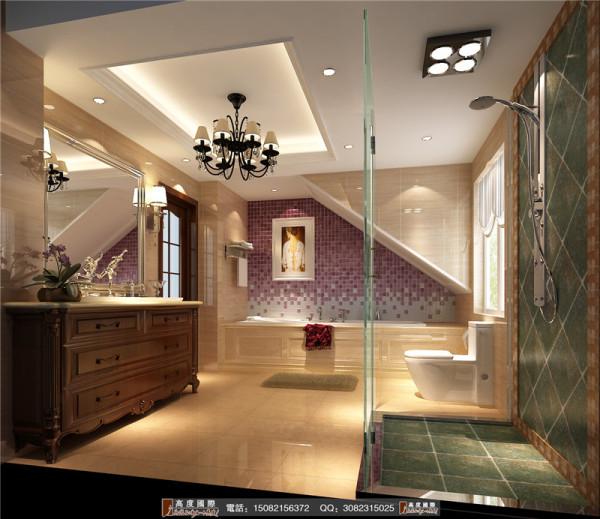 中德英伦联邦卫生间细节效果图--成都高度国际装饰设计