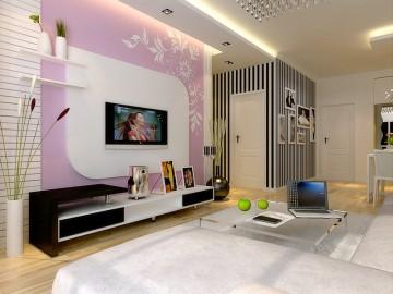 中海国际社区85平米简约时尚风