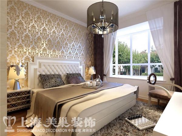蓝堡湾189平五室两厅法式简约装修效果图--卧室
