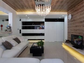现代简约-145平米三居室装修设计