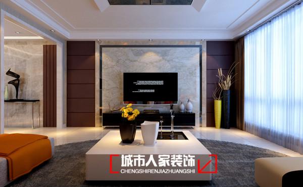 华鼎泰富157㎡现代风格设计作品