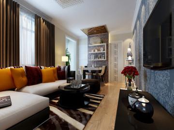 一居室小户型现代简约风格设计