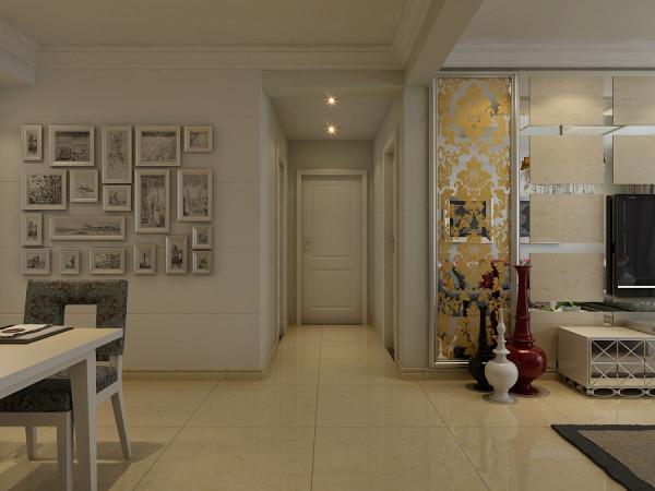 乳色的地板砖为简约的风格之上添加了些许优雅感,装饰画的填充背景的空白,为餐厅营造出艺术的氛围,创造更加立体的视觉效果,把家居生活丰富化。