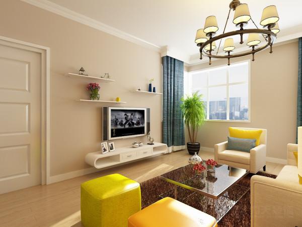 这是华城景苑两室一厅一厨一卫90.1㎡的户型。风格为现代简约。