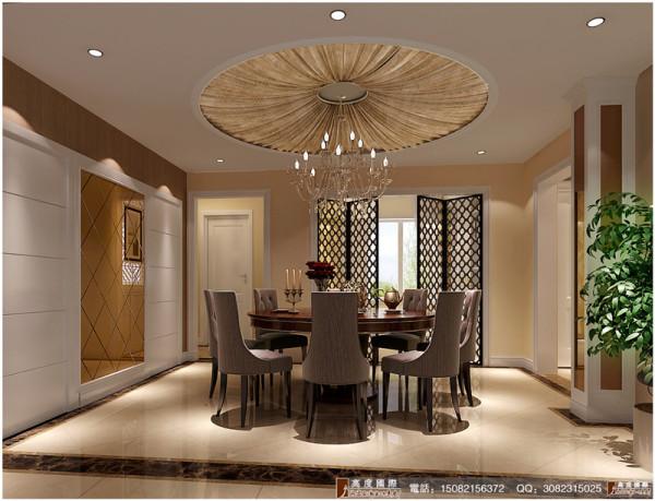 中环岛餐厅细节效果图---成都高度国际装饰设计