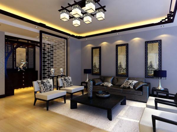 本设计是为一位54岁的成功人士设计的,由于客户非常喜欢富有古典主义的中国风,故本设计采用了中式风格的设计。