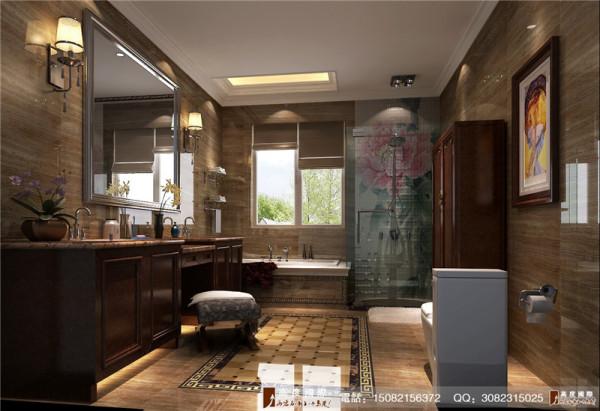 龙湖悠山郡卫生间细节效果图---成都高度国际装饰