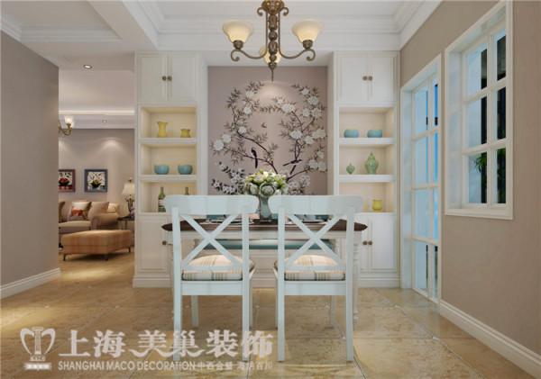 天骄华庭89平3室2厅简美风格装修效果图——餐厅装修效果图