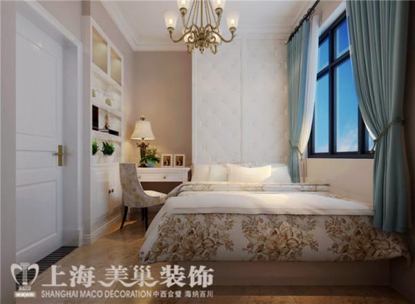 郑州天骄华庭89平3室2厅简美风格装修效果图——次卧装修效果图