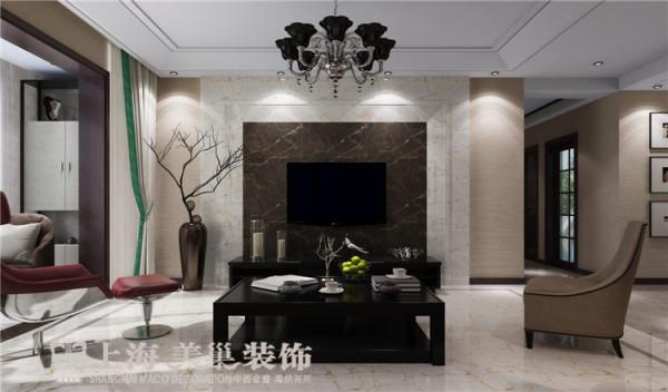 鑫苑世纪东城120平三室两厅现代简约风格装修效果图——电视墙
